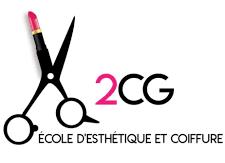Ecole coiffure et esthétique 2cg Logo